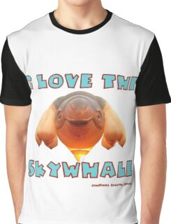 I Love the Skywhale Photograph Canberra Balloon Festival Graphic T-Shirt