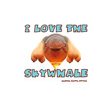 I Love the Skywhale Photograph Canberra Balloon Festival Photographic Print