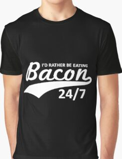 eating bacon Graphic T-Shirt