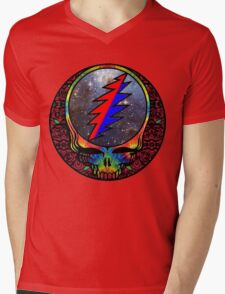 Grateful Dead Mens V-Neck T-Shirt