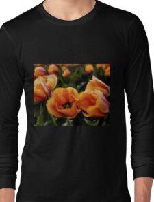 Unique Beauty - Flower Art Long Sleeve T-Shirt