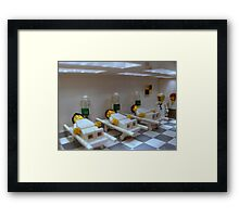 This is Lazaretto Station Framed Print