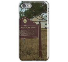 Carlyle Community Hall iPhone Case/Skin