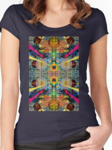 Stargate to the middle chamber Women's Fitted Scoop T-Shirt