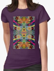 Stargate to the middle chamber Womens Fitted T-Shirt