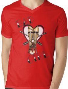 Bad Girl Mens V-Neck T-Shirt