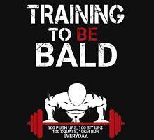 Training to be bald one punch man manga cosplay anime t shirt  Unisex T-Shirt