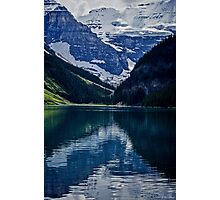 Reflections Of Lake Louise - Banff National Park Photographic Print