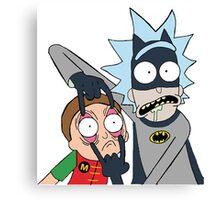 Batman Rick Canvas Print