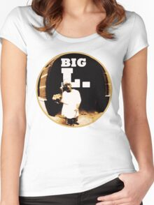 Big L Women's Fitted Scoop T-Shirt
