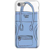 Blue bag iPhone Case/Skin
