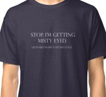 Wise words of Captain Cold Classic T-Shirt