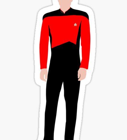 Star Trek - Minimalist Picard Sticker