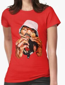 Blunted Method Man Womens Fitted T-Shirt