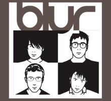 Blur band One Piece - Short Sleeve