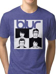Blur band Tri-blend T-Shirt