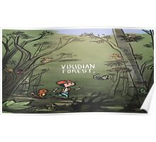 Viridian Forest Pokemon  Poster