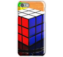 3D Rubiks Cube iPhone Case/Skin
