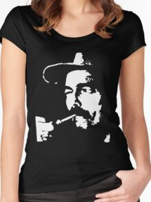 Captain Beefheart punk rock Women's Fitted Scoop T-Shirt