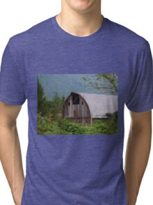 Middle Of Nowhere - Country Art Tri-blend T-Shirt