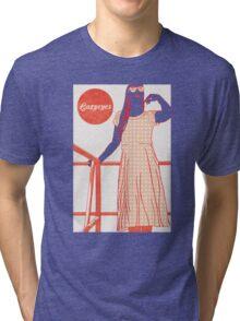 Lazyeyes @ Milk Run Tri-blend T-Shirt