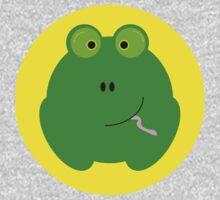 Green Frog Baby Tee