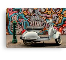 Vespa at Hosier Lane Canvas Print
