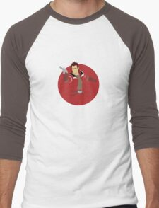 Theron Shan Men's Baseball ¾ T-Shirt