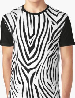 Zebra skin pattern Graphic T-Shirt