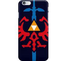 The Legend of Zelda - Master Sword Crest iPhone Case/Skin