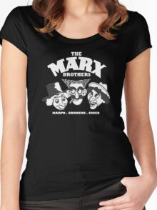 The Marx Brothers Women's Fitted Scoop T-Shirt