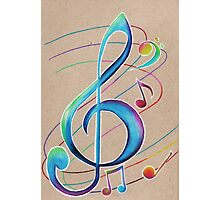 Colorful Notes Photographic Print