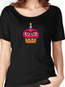Adventure Nightmare Cupcake - FNAF World - Pixel Art Women's Relaxed Fit T-Shirt