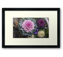Flower Flower Framed Print