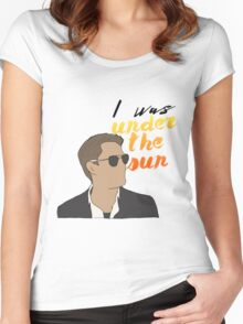Michael Weatherly - Under the Sun Women's Fitted Scoop T-Shirt