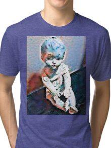 Cecelia Doll Tri-blend T-Shirt