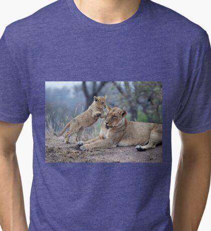 Mom, Please Play ! Tri-blend T-Shirt