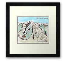 BE ONE WITH THE EARTH Framed Print