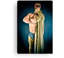 Wrestling superstar El Hatcha  Canvas Print