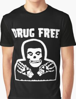 Drug Free Graphic T-Shirt