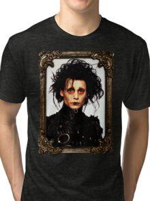 Edward Scissorhands Tri-blend T-Shirt
