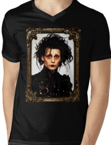 Edward Scissorhands Mens V-Neck T-Shirt
