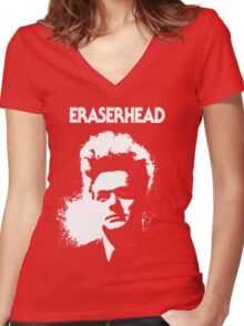 Eraserhead Women's Fitted V-Neck T-Shirt