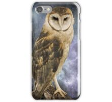 Wise Old Owl - Image Art iPhone Case/Skin