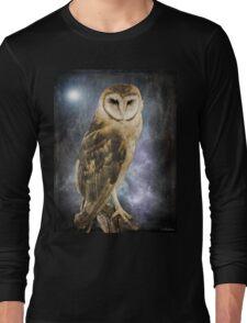 Wise Old Owl - Image Art Long Sleeve T-Shirt