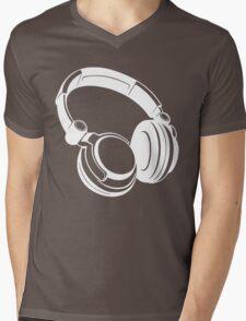 Gift Headphones Mens V-Neck T-Shirt