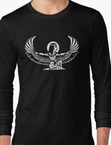 Goddess Isis Egyptian Long Sleeve T-Shirt