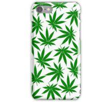Arkansas (AR) Weed Leaf Pattern iPhone Case/Skin