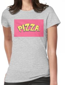 Love Pizza Womens Fitted T-Shirt