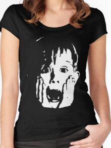 Home Alone classic Women's Fitted Scoop T-Shirt